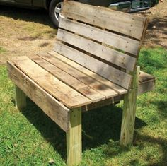 Uses for old pallets.