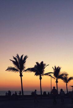 Sunset in canari islands ☀️