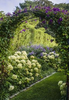 Check out my collection of stunning gardens on my Pinterest board Mad About Gardens