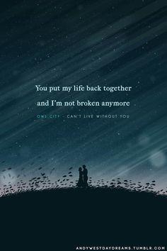 Can't Live Without You • #owlcity #lyrics