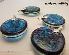 A couple of weeks ago I dug out my old decorated glass gems and whipped up some magnets . The project reminded me just how rewarding d...