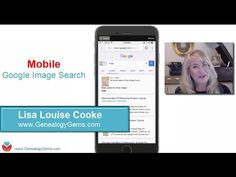 How to Google Search Images - Smartphone & Tablet (Family History & Genealogy) - YouTube