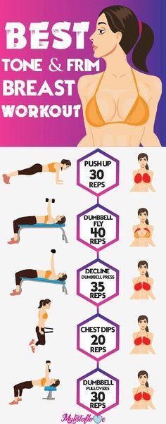 Esercizi e ginnastica posturale per un seno più alto e sodo.