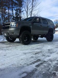 2008 Chevrolet Tahoe lifted