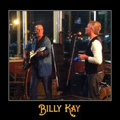 Billy Kay and Alex Burke perform at Slaughter County Brewing Company in Port Orchard, WA