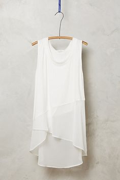 Dorset Tank  #anthropologie   also comes in a pale blue.