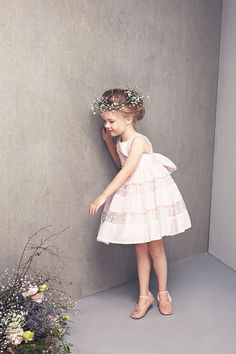 Little Girl Fashion, My Little Girl, Little Girl Dresses, Flower Girl Dresses, Kids Fashion Photography, Princess Style, Baby Kind, Baby Dress, Kids Outfits