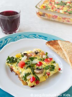 Healthy Kid-Friendly Breakfast Recipes from @ProduceForKids