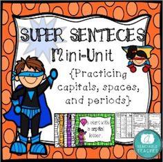 A fun concepts of print mini-unit! Superhero Kindergarten, Superhero Classroom Theme, Kindergarten Units, Future Classroom, Classroom Themes, Concepts Of Print, Seeing Quotes, Cute Themes, Teaching Writing
