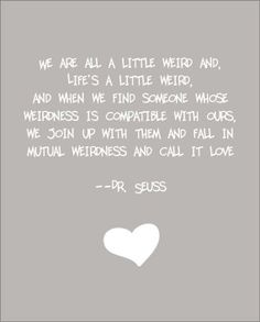 Mutual Weirdness....