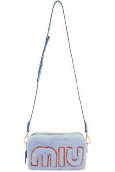 8a3f66a9ff9 Cheap Miu Miu Little Bag Rt0530 Fvj F0016 Cornflower Blue UK Sale in ...