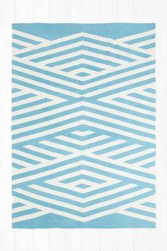 """""""Tove"""" Teppich in Blau, 5 x 7 Fuß urban outfitters"""