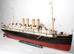Marklin Ocean Liner 5050/11/E/ D one of the largest!  Auktionshaus Hohenstaufen