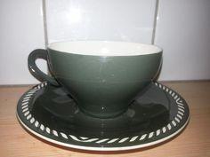 Tea Cup Saucer, Teacups, Scandinavian Design, Tea Pots, Colour, Retro, Tableware, Dinnerware, Color