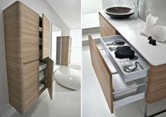 Modern Bathroom Furniture With Rounded Corners | Great Home Design Ideas