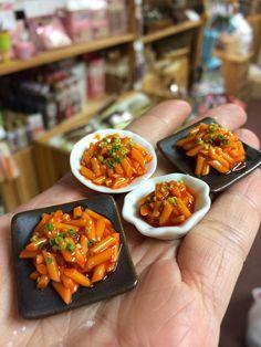 My handmade miniature Korean cuisine- toppoki