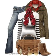 Olive and Stripes :)