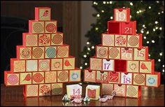Advent Calendar Tree with Drawers