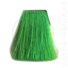 Coloration Cheveux Vert Electric Lizard UV Manic Panic   Color-Mania.fr