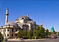 Selimiye Mosque,Mevlana Museum,Konya,Turkey