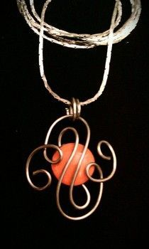 Paper clip & thumb-tack pendant - really!   #Wire #Jewelry #Tutorials