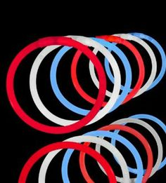 """300 Lumistick 8"""" Glow Stick Glow Bracelets - Assorted Red/White/Blue Mix by Lumistick. $25.00. Great for 4th of July! Show Your Colors!. Glows 8 - 12 Hours; Brand New & Fresh from the Factory. 1 tube of each color Red, White and Blue. Includes 300 Connectors (Make Bracelets, Necklaces & More). You will receive 3 tubes of 100 Authentic Lumistick Brand Factory Fresh Premium Glow Bracelets. The best brand of glow bracelets in the market. You will receive 3 tubes of 100 L..."""