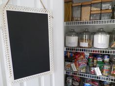 How To Create a Very Pretty & Functional Kitchen Pantry - Chocolate And Sunshine