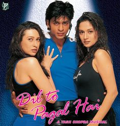 Release Date: 30 Oct 1997 Directed by: Yash Chopra  Produced by: Yash Chopra   Cast: Shah Rukh Khan, Madhuri Dixit, Karisma Kapoor, Akshay Kumar, Farida Jalal, Devan Verma, Aroona Irani and Others