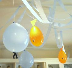Goldfish Birthday Party Ideas | Photo 1 of 22 | Catch My Party
