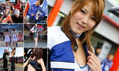 Paddock Girls at Motegi MotoGP 2013