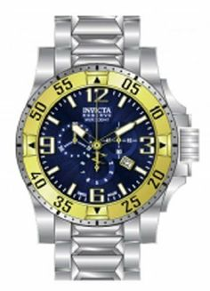 Invicta Watch Invicta. $236.50. Water-resistant to 200 M (660 feet). Flame Fusion crystal. Swiss quartz movement. Stainless steel case and bracelet. Save 85% Off!