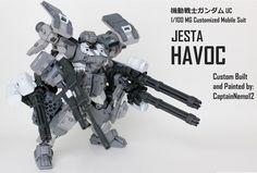 GUNDAM GUY: MG 1/100 Jesta HAVOC - Customized Build