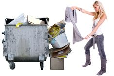 if you start checking out what other people throw into the dumpsters. Here are tips from the pros!