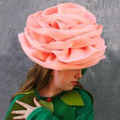 rose hat pattern $15