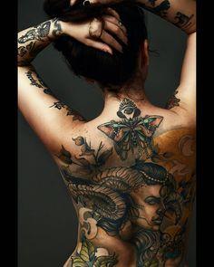 back tattoo @atena666