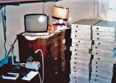 Boxes of Apple 1s in Steve Job's Bedroom 1976