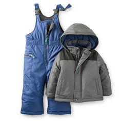 2-Piece Textured Snowsuit
