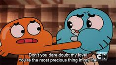 Sometimes i wish i had a sibling just like Darwin so we could be like Gumball and Darwin together. ' Sigh ' :)