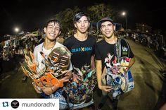 Instagram #skateboarding photo by @crashboat_dorado - Enhorabuena @sk8ter_nathan  #CrashboatPR #CrashboatDorado #CrashboatTeam #Surf #Skate #LifeStyle #SkateTeam #Repost @mundoradtv with @repostapp.  Arecibo Night Sesh  Sábado 23 de abril de 2016 Skatepark de Arecibo Presentado por @4realskatefamily y @theroompr  Resultados:  Categoría Intermedio  1. @navir_rassi  2. Nathanael Vélez @sk8ter_nathan  3. Jared Bascó @jaredisneckdeep  Felicitaciones muchachos! Foto por Luis Ferrá @ferraphoto…