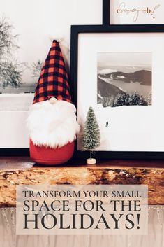 CDesignsB - Transform your Small Space for the Holidays with these Ten Holiday Decor Must-Haves! Nordic Christmas, Christmas Trees, Christmas Holidays, Xmas, Christmas Ornaments, Kid Crafts, Felt Crafts, Holiday Crafts, Holiday Ideas