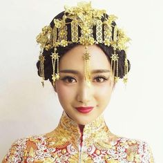 Wholesale cheap  online, europe and america   - Find best  angelababy angela baby married with a chinese wedding bride headdress costume show clothing cheongsam wo hair accessories at discount prices from Chinese wedding hair jewelry supplier - manny628 on DHgate.com.