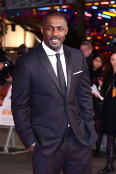 """People Magazine crowned David Beckham the """"Sexiest Man Alive"""" in making him the white man to earn the title. Here is a more diverse roster of deserving men in Hollywood. Hottest Male Celebrities, Black Celebrities, Black Actors, Idris Elba Wife, Idriss Elba, People Magazine, Man Alive, Good Looking Men, White Man"""