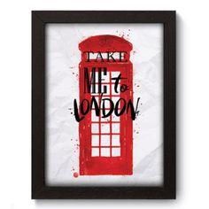 Quadro Decorativo - Londres - 140qdm