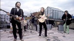 The Beatles final live performance.