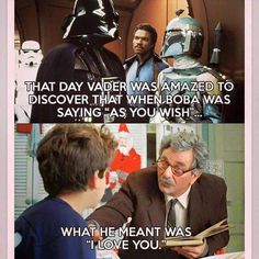 """31 Assorted Memes That'll Put You In A Giggle Fit - Funny memes that """"GET IT"""" and want you to too. Get the latest funniest memes and keep up what is going on in the meme-o-sphere. The Princess Bride, Star Wars Meme, Star Wars Watch, The Force Is Strong, Lol, Boba Fett, Funny Posts, Best Funny Pictures, The Funny"""