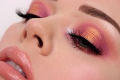 Eye makeup look using ColourPop x My Little Pony
