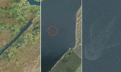 Have Apple's maps found the Loch Ness Monster? Satellite image reveals mysterious shape lurking in the Scottish Highlands