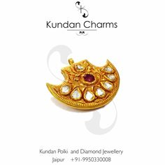 Kundan Polki Pendant  #kundancharms #instagram #love #passion #polki #uncutdiamond #jewelry #jewels #jewellery