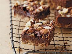 Chocolate-Nut Bars |