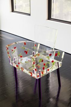 §lucite rose chair...SO COOL